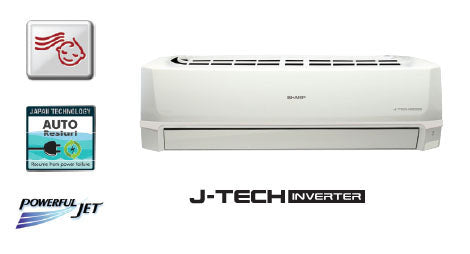 Sharp Inverter Split AC 1.5 Ton AHX18SEV