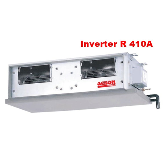 Acson Ceiling Concealed Inverter AC 1 Ton A5CCY15CR A5LCY15DR Heat & Cool R410A Gas