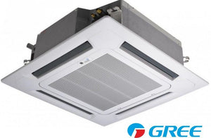 Gree Ceiling Cassette Air Conditioner 2 Ton GKH24K3B1 Heat & Cool R22 Gas