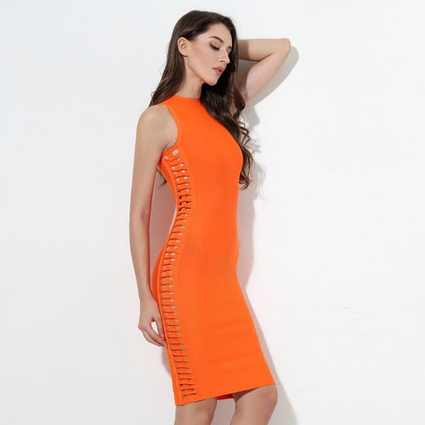O-Neck Sleeveless Dress