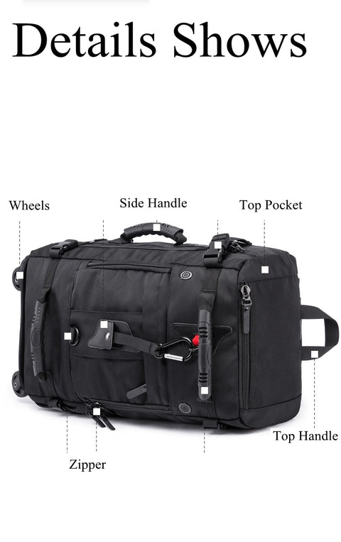 Business Suitcase Wheels Carry On Travel Bags - amazingfamilystore