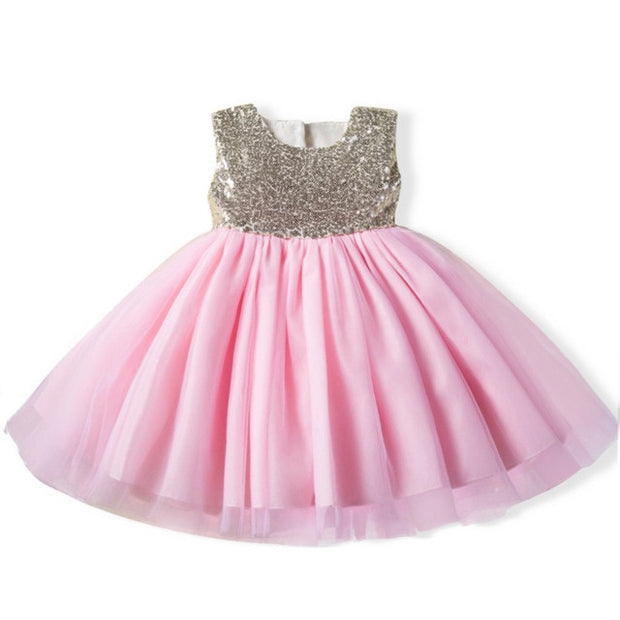 Kids Flower Petals Dress - amazingfamilystore