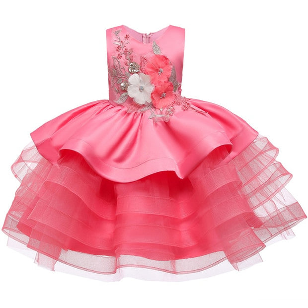 Little Kids Satin Dresses