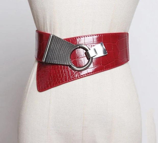 Leather Red Belt
