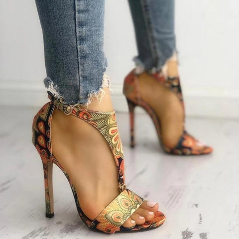 woman High Heels Pumps Sandals - amazingfamilystore