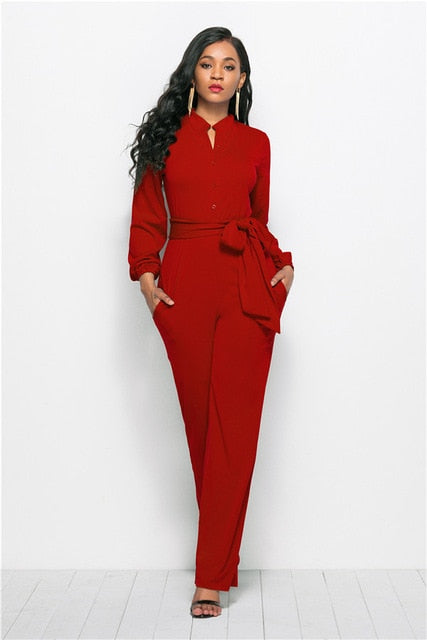 Women Wide-leg Jumpsuit