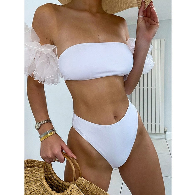 Amazing Lace Bubble Sleeve Bikini
