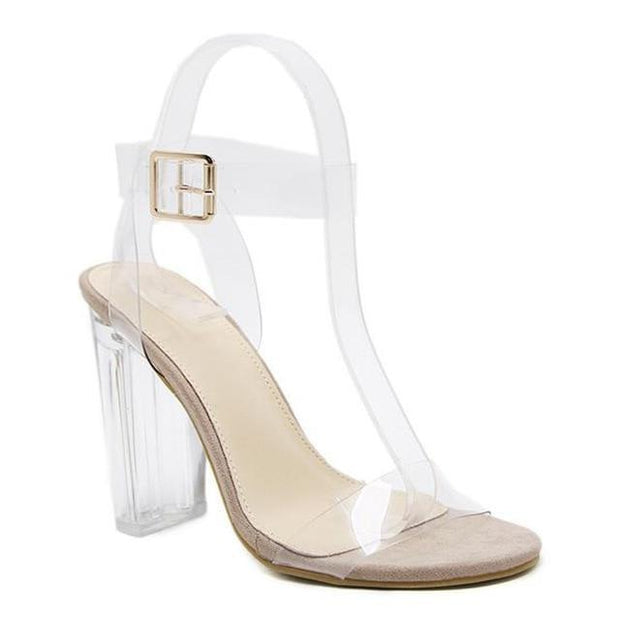 Crystal  Heel Sandals