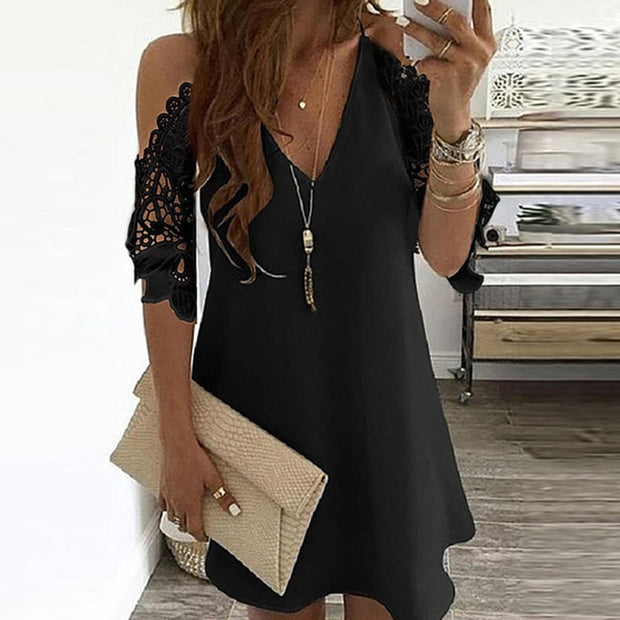 Off Shoulder Mini Dress