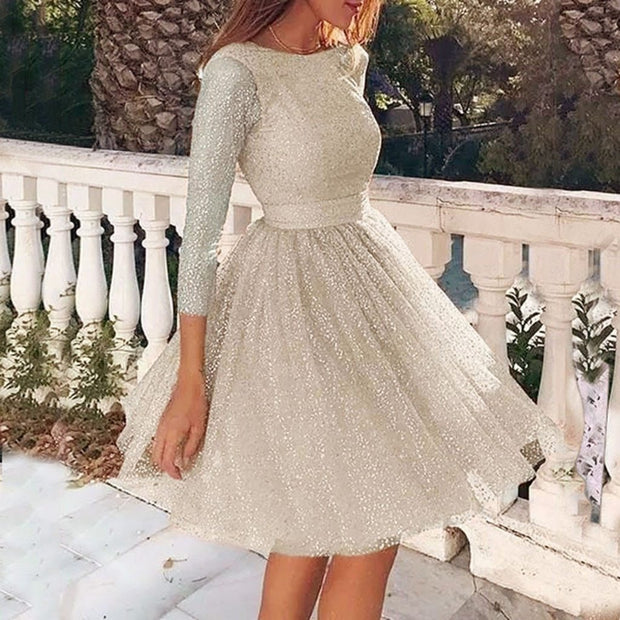 O-Neck Party Dress
