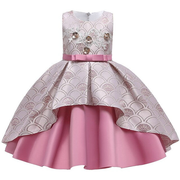 Girls' wedding puffy Dress