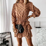 Long Sleeve Turtleneck Dress