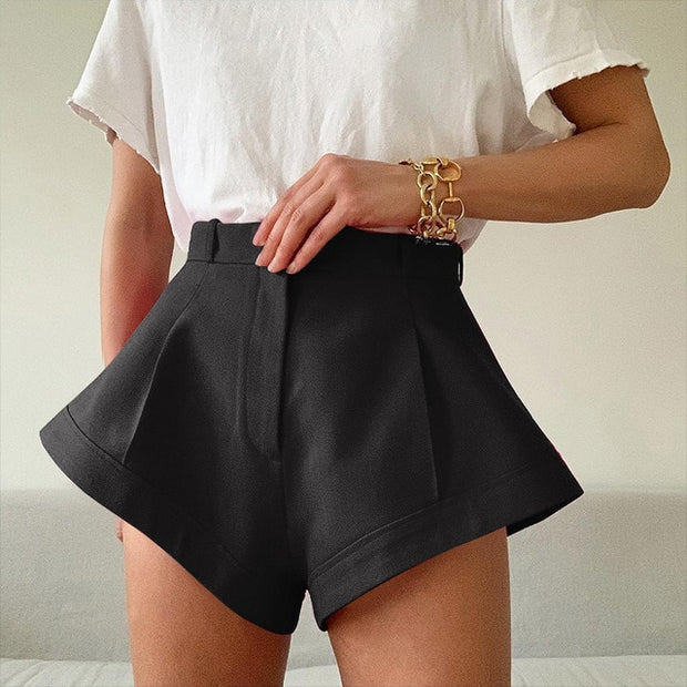 Amazing Family Store High Waist Wide Leg Shorts