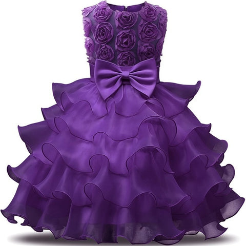 Flower Girl Dress For Wedding - amazingfamilystore