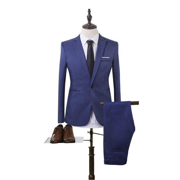 Formal Men's Suit - amazingfamilystore