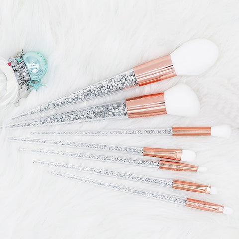 Crystal Makeup Brushes - amazingfamilystore