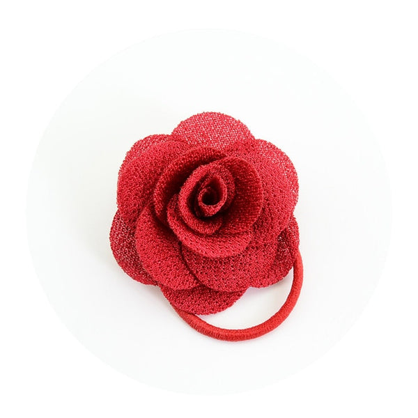 Rose Ponytail Holder