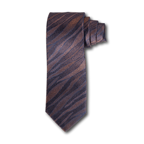 Carlo Franco Layers Of Nature - Browns Seven Fold Tie