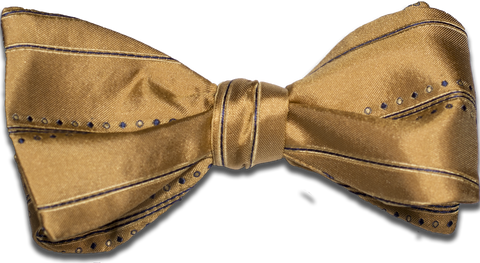 Siracusa - Yellow and Blue Silk Bow Tie
