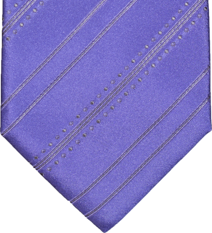 Siracusa - Lavender and Medium Grey Silk