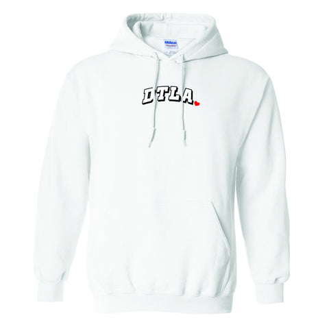 """DTLA x CITY OF ANGELS"" PULL OVER HOODIE (WHITE)"