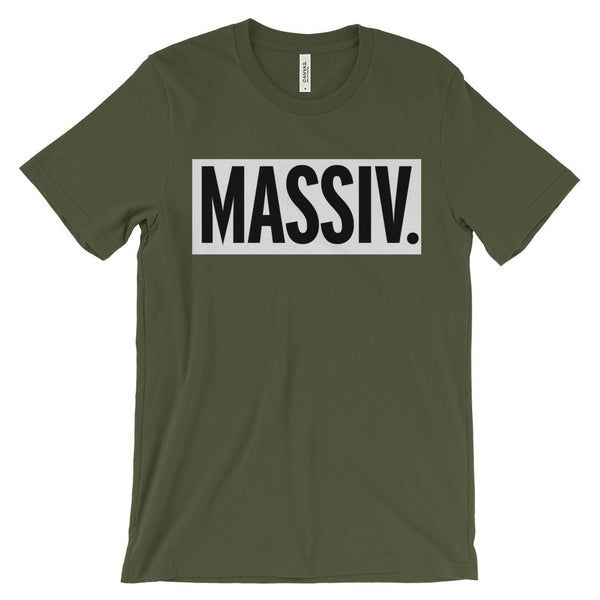 """MASSIV."" BOX LOGO TEE"