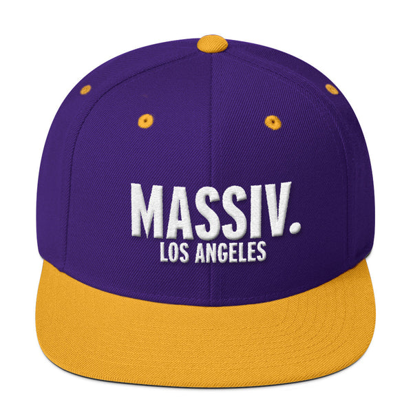 """MASSIV. LOS ANGELES"" SNAPBACK"