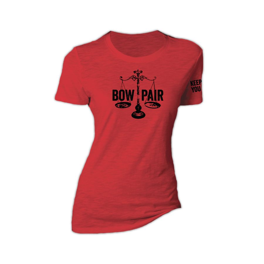 Women's Bow Pair triblend rowing tee