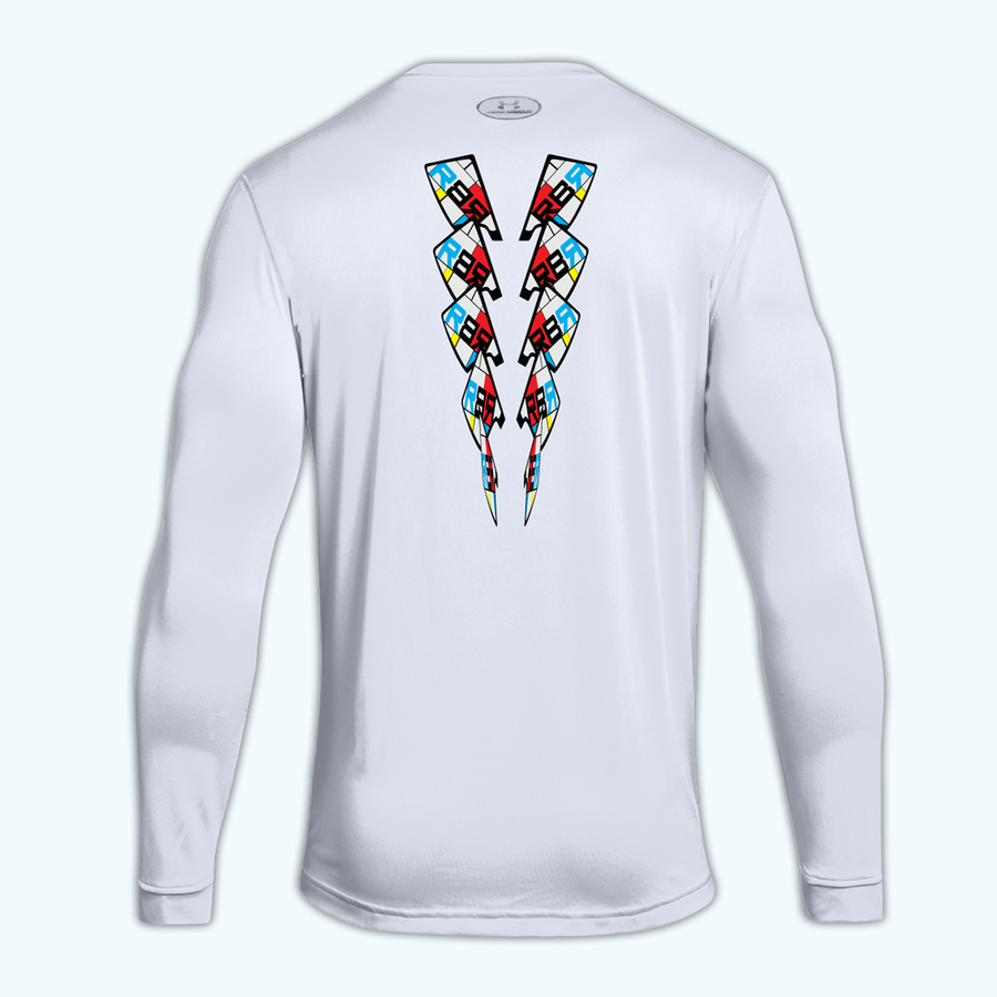 Mondrian Tech Long Sleeve - men's back