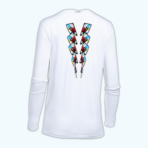 Mondrian Tech Long Sleeve - women's back