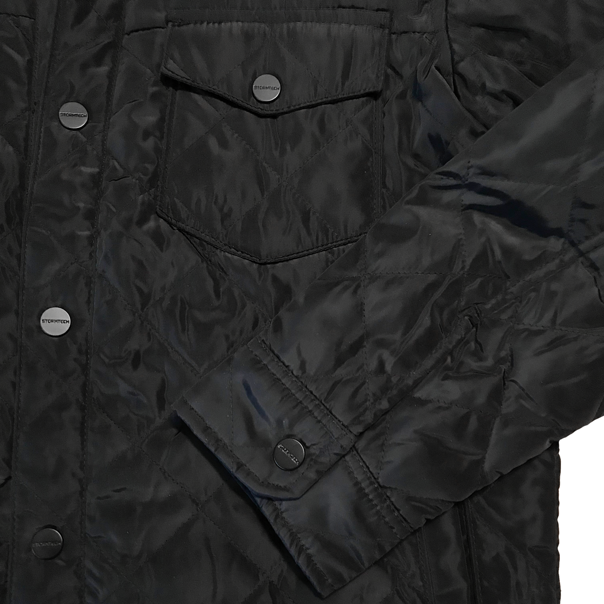 RB Diamond Back Jacket - pocket & sleeve detail