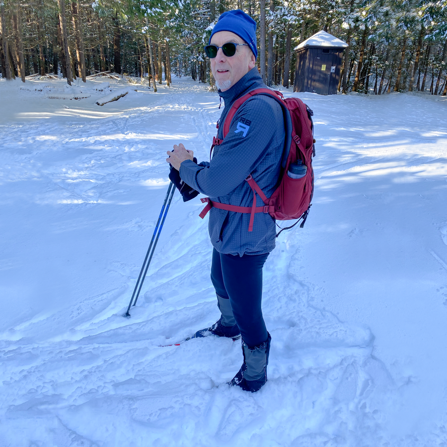 Kyoto jacket on skier - ridebackwards.com