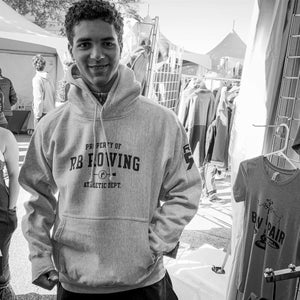 RB Rowing Heavyweight Hoody on rower- ridebackwards.com