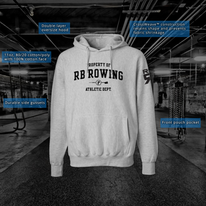 RB Rowing Heavyweight Hoody details page- ridebackwards.com