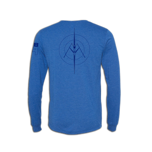 RB Sculling Long Sleeve Tee back - ridebackwards.com