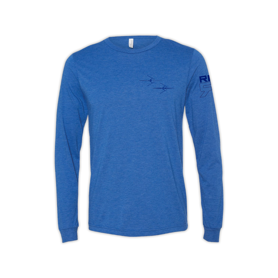 RB Sculling Long Sleeve Tee front - ridebackwards.com