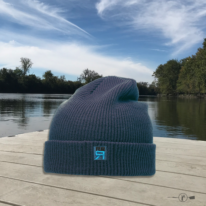 RB Rowing Slouch Beanie - navy - ridebackwards.com