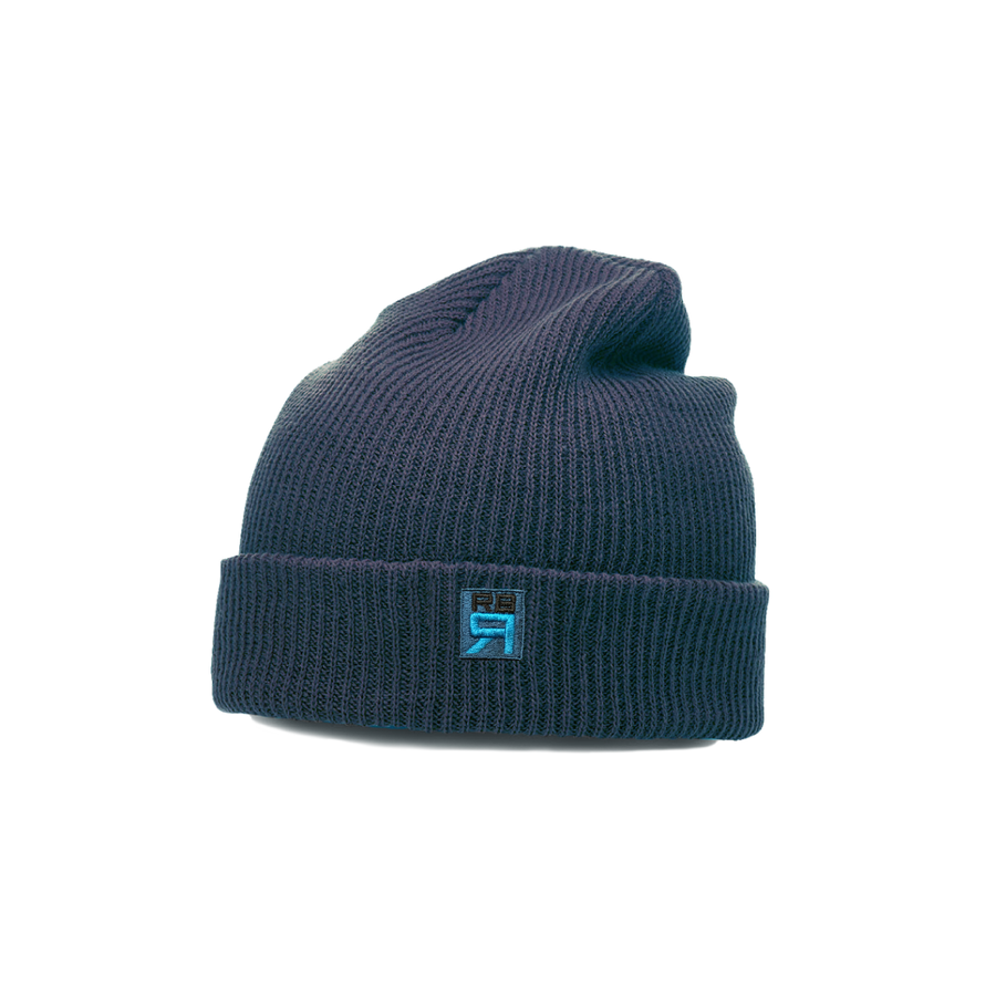 RB Rowing Super Slouch Knit beanie - navy - ridebackwards.com