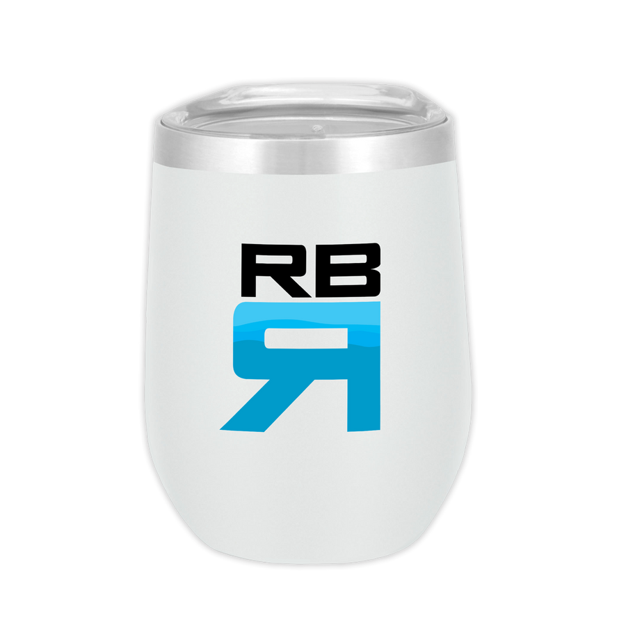 RBR Flow stainless steel wine tumbler - ridebackwards.com