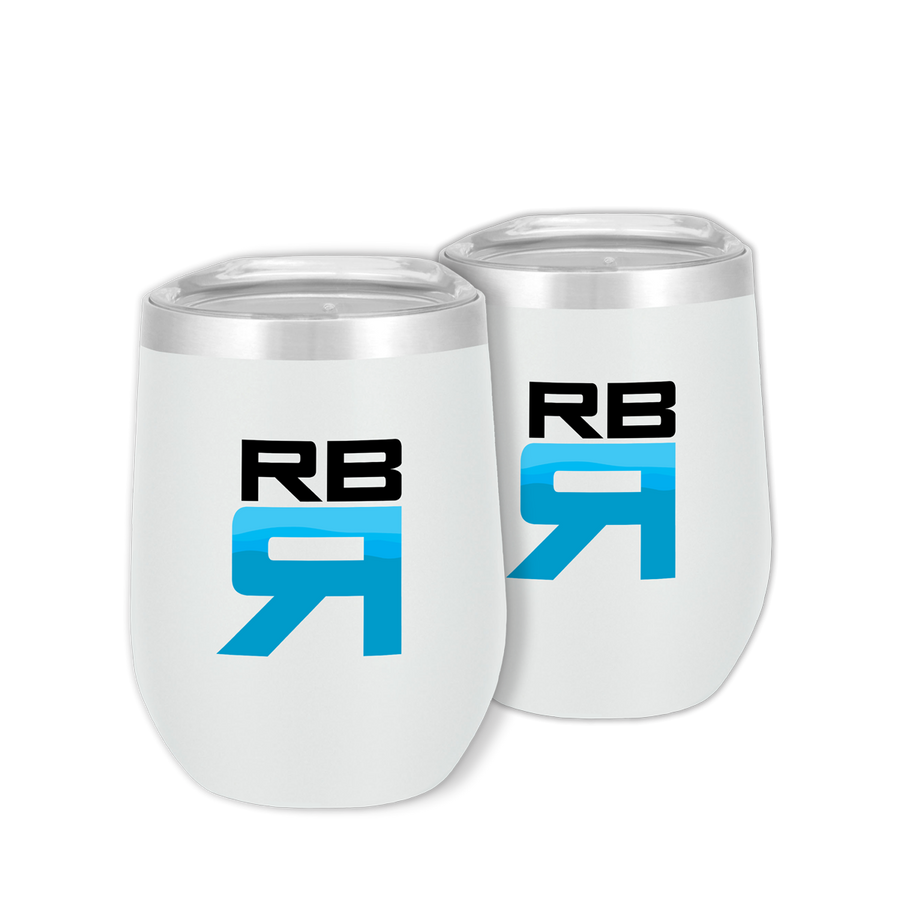 RBR Flow stainless steel wine tumblers 2 pack - ridebackwards.com