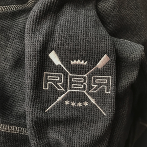 RBR Rowing Vintage Thermal embroidery - © 2019 Ride Backwards