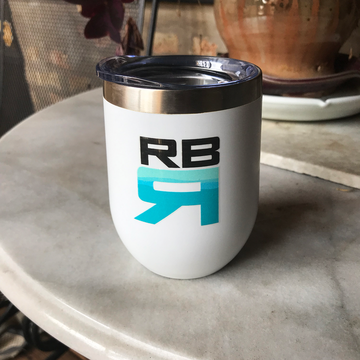 RBR Flow 12 oz. stainless steel wine tumbler - ridebackwards.com