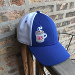 RB Coffee Cool Mesh Cap front image - ridebackwards.com