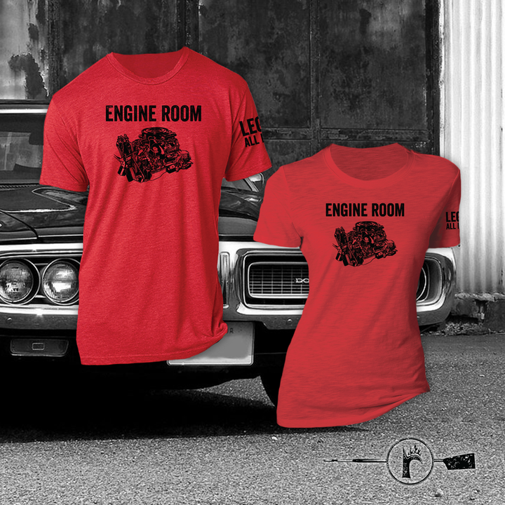 Engine Room triblend tees