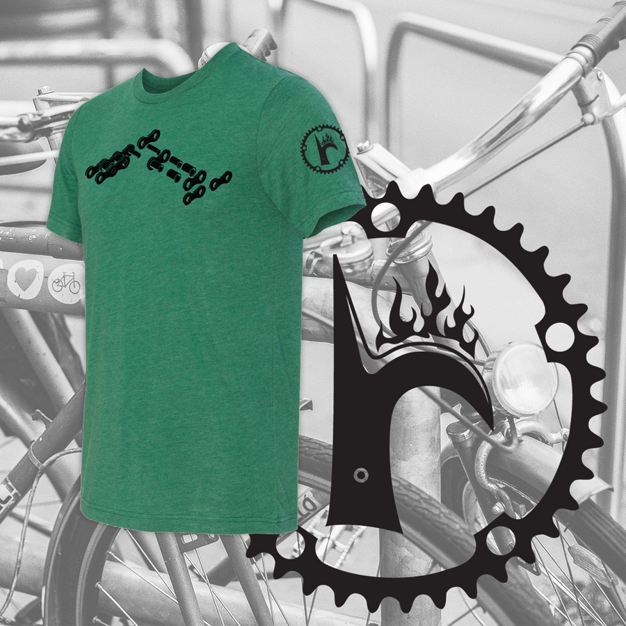 Link Triblend Tee - © 2019 Ride Backwards