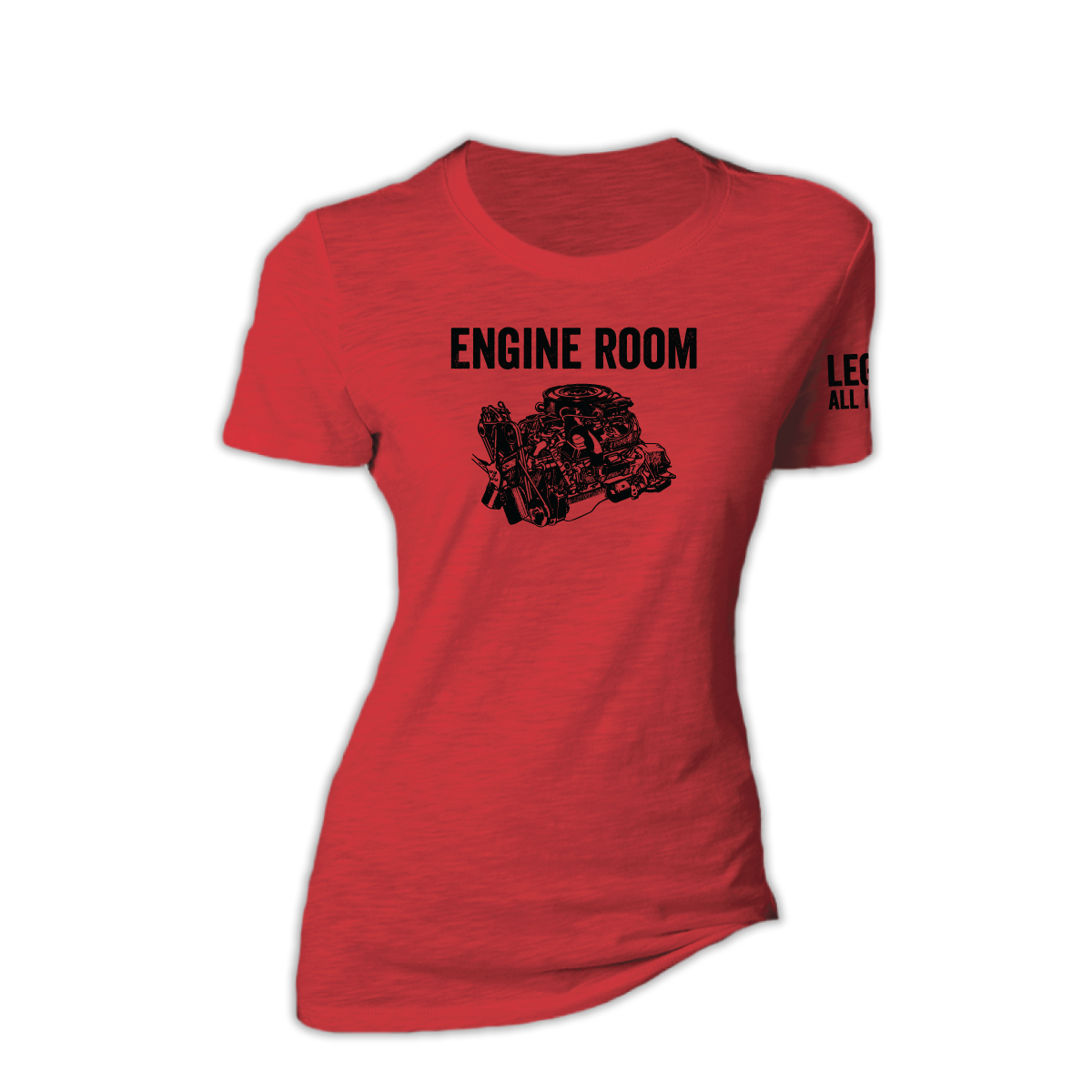 Women's Engine Room triblend tee