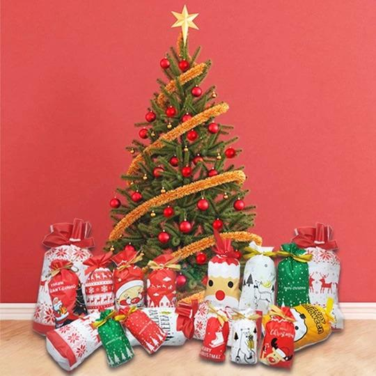 50% OFF Holiday Promotion-Drawstring Christmas Gift Bags