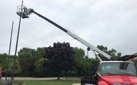 Flagpole Repair by Fly Me Flag