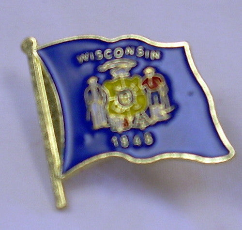 US State Flag Lapel Pin