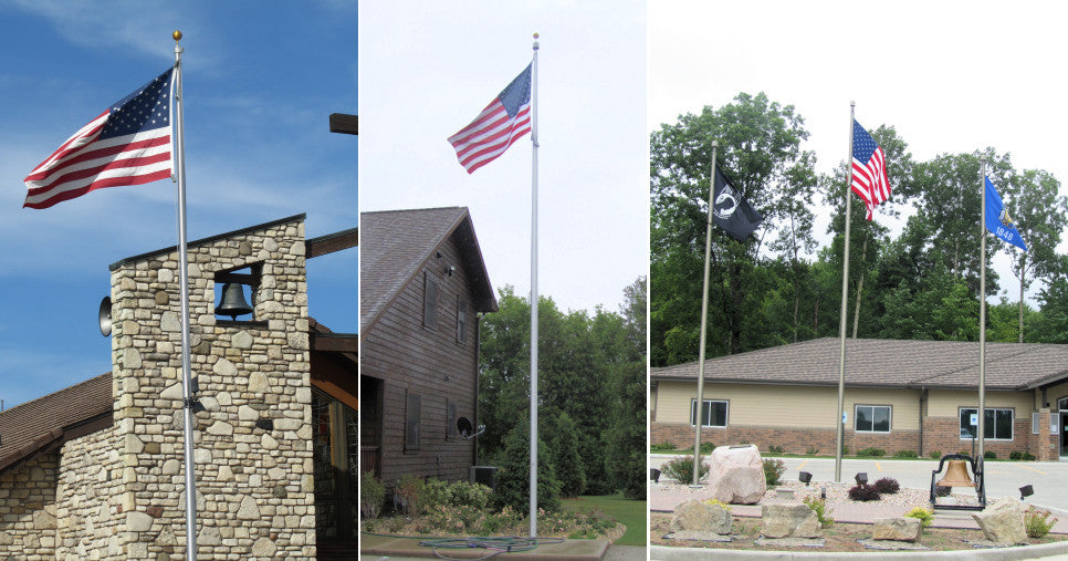 Installer of Flagpoles Wisconsin